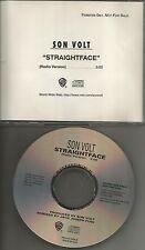 Jay Farrar SON VOLT Straightface w/RARE RADIO TRK PROMO CD single Straight Face