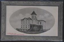 Postcard McMINNVILLE Oregon/OR  Cook Public School Campus Building view 1907