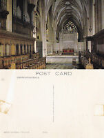 1980's THE CHOIR BRISTOL CATHEDRAL BRISTOL UNUSED COLOUR POSTCARD