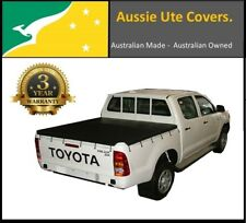 TOYOTA HILUX J DECK DUAL CAB UTE TONNEAU SOFT COVER August 2005 to 2015