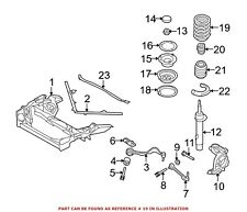 For BMW Genuine Coil Spring Front 31336767378