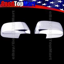 For Nissan XTERRA 2005-2007 2008 2009 2010 2011 2012 Chrome 2 Full Mirror Covers