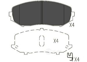 Disc Brake Pad Set-TSS Ceramic Pads Front fits 06-13 Suzuki Grand Vitara