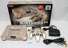 [Fastest EMS ship] N64 console gold NUS-001 work boxed manual expansion pack