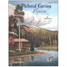 Pictorial Carving Finesse Book Al Stohlman Tandy Leather 61950-00 Free Ship