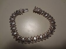 #37-VINTAGE STERLING SILVER MEXICO BRACELET-925-OLD AND VERY NICE