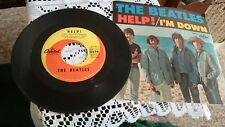 The Beatles 45 RPM - Help! - Capitol 5476. 1965. Picture Sleeve
