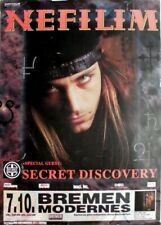 NEFILIM - FIELDS - 1996 - Plakat - Concert - Secret Dicovery - Poster - Bremen