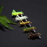 Grasshopper Insect Lifelike Fishing Lure Tackle Luminous Artificial Bait Nett