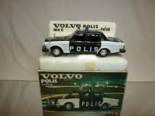 POLISTIL S 23 VOLVO POLIS  1:25 - EXCELLENT CONDITION IN BOX - EXTREMELY RARE