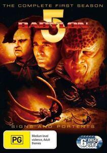 Babylon 5 : Season 1 (DVD, 2002, 6-Disc Set) Region 4 - NEW+SEALED