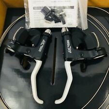 NOS SHIMANO DEORE XT ST-M737 8 SPEED TRIPLE TRIGGER SHIFTER SLR & BRAKE LEVERS