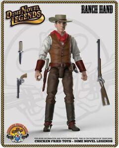 "Dime Novel Legends 1:18 scale (4"") old west action figure Ranch Hand"