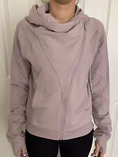 Lululemon Size 6 Coast Hoodie Blush Pink SBLH Coat zip long sleeve Yoga NWT