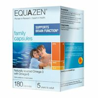 Eye Q Equazen Family x 180 Capsules, supports brain function