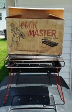 Vintage Cook Master Tabletop Charcoal Grill By Holland Industries Unused Nos
