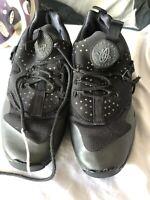 Men's Nike Huarache Black Trainers Size 7