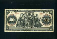 Mexico Chihuahua 500 pesos 1913 - VF