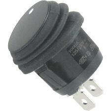 100 St. WIPPTASTER rund 23 mm EIN/AUS 250VAC 10(4)A IP65 hochwert. Industrieware