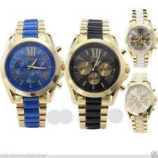 Markenlose vergoldete Quarz - (Batterie) Armbanduhren für Herren