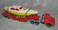 Vintage Majorette 1/60 Kerian_Nice Truck Renault Savium with Boat