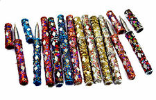 A Set of 10pcs Multi Color Indian Rajasthani USA Table Decorative Useful Pens