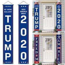 2020 Trump Flag - Garden Banners and Sign,Patriotic Outdoor Yard Sign Decoration