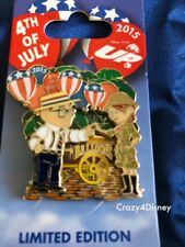 Disney UP Carl & Ellie with Balloon Cart - 4th of July Limited Edition Pin