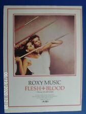 More details for roxy music bryan ferry - flesh + blood lp - a4   poster advert 1980s original