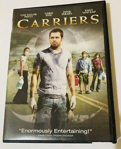 CARRIERS DVD 2009 WIDESCREEN CHRIS PINE EMILY VANCAMP