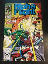 "Alpha Flight#80 Incredibld Condition 9.4(1990)""Acts Of Vengeance"" Scorpion !!"