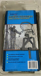 Ameristep Hunting Safety Harness With Quick Connect Model 223 Camo Webbing