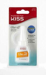 Kiss Glue Off Nail Glue Remover - Remove Glue, Nails, & Wraps - #BK116