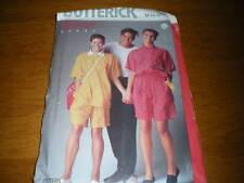 vintage butterick 12-16 misses top,shorts 6236