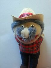 Hee Haw Signed Shot Gun Red Nashville Autographed Plush Stuffed Doll Vintage