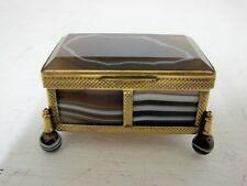SCOTTISH AGATE BOX C1880'S