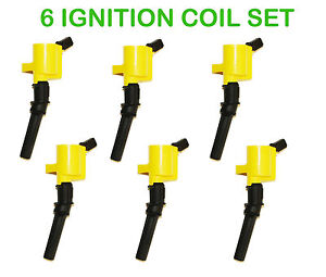 FD503 / DG508 HIGH PERFORMANCE Ignition Coil FITS FORD,LINCOLN, MERCURY set of 6