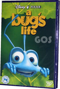 A Bugs Life Walt Disney Pixar Animated Childrens Insect Film on DVD - New Sealed