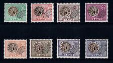 timbre France préoblitéré  monnaies   n° 138/45  **