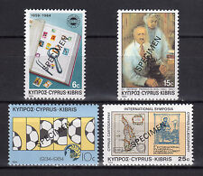 CYPRUS 1984 ANNIVERSARIES AND EVENTS - SPECIMEN MNH