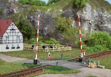 AUHAGEN HO scale ~ LEVEL CROSSING ~ plastic model kit-set #41604