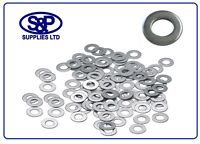 STAINLESS STEEL WASHERS 4mm TO 20mm FORM A FLAT WASHER STAINLESS A2-304