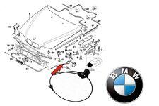 BMW 5 SERIES E39 MECCANISMO DI APERTURA DEL COFANO CAVO DI APERTURA 51238176595