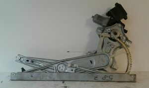 TOYOTA YARIS 2006 OFF SIDE O/S FRONT DRIVER WINDOW REGULATOR 983728-101  TOY316W