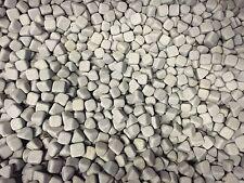 1kg Korund Poliersteine 1x1 cm Schleifsteine Poliertrommel Schleifkörper