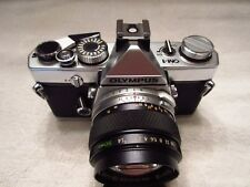 Olympus OM-1 35mm SLR Film Camera with 50 mm