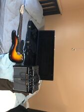 (Please Read Description) Austin Stratocaster guitar with case, amp, and strap.