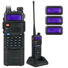 NKTECH UV-5R PLUS Tri-Power 8W 4W 1W Funkgerät Walkie Talkie + 3800mAh Battery