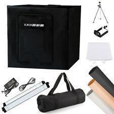 """40cm/16"""" Lighting Tent Softbox Cube Box 84-LED Light Backdrop Kit Studio Video"""
