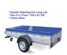 Universal Trailer Cover 5 x 3 152 x 92cm With Elasticated Cord FREE POSTAGE